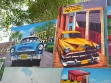 Cuba-La-Havanne-march--tableaux-voiture-1