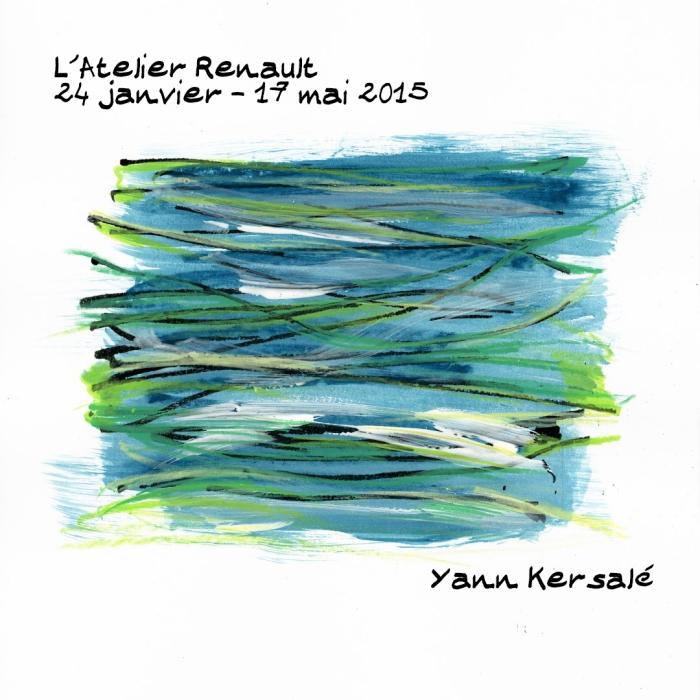 Exposition Yann Kersalé - L'Atelier Renault - 24-01 au 17-05-015
